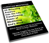 Free Christian Meditation Guide