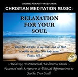 Christian Meditation Music CD Relaxation For Your Soul